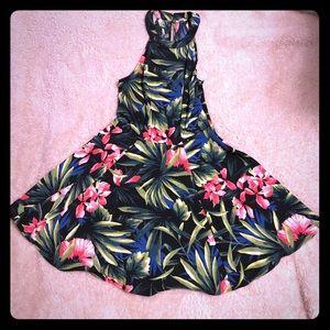 Hollister Tropical Print Dress